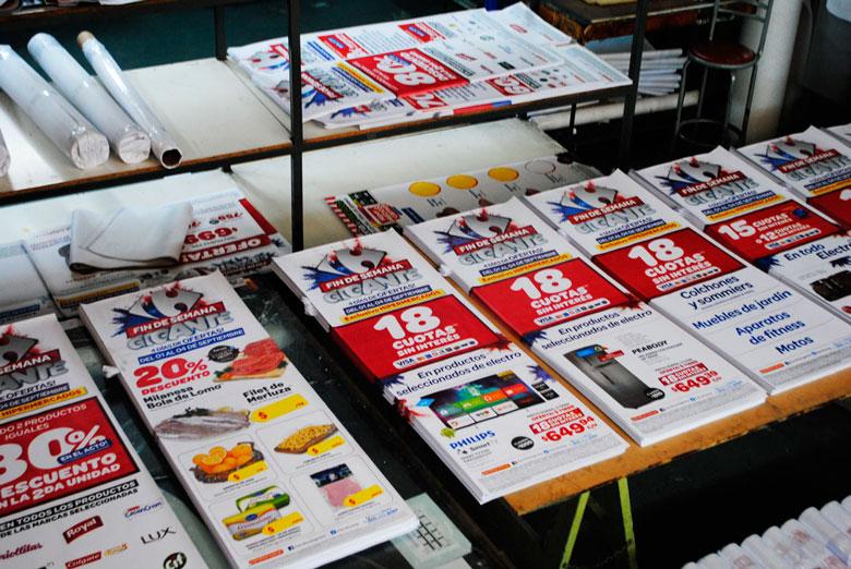 Gráficas Carrefour